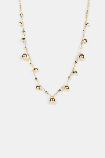 Dance Again Necklace in Gold Plating