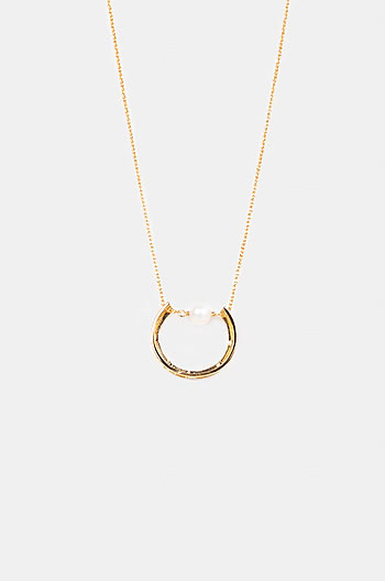 So Wearable Necklace in Gold Plating