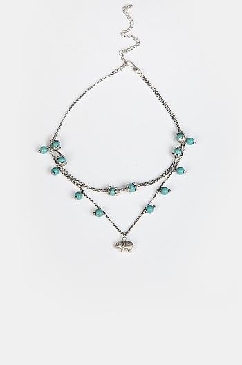 Antique Tough Hides Necklace