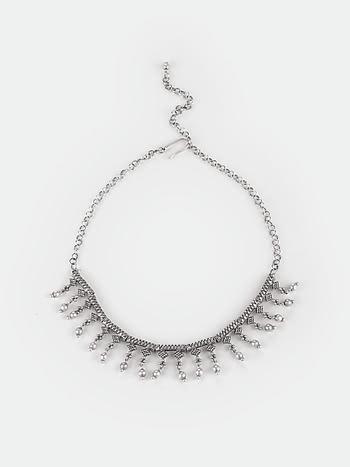 Antique Nanammas Temple Visit Necklace in 925 Silver