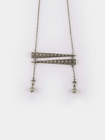 Antique Dadis Club Lunch Necklace in 925 Silver
