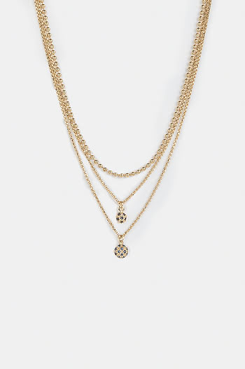Say My Name Necklace in Gold Plating