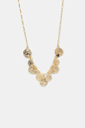Loaded Necklace in Gold Plating