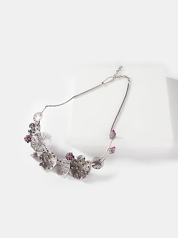 Rise Above Neglect Necklace in 925 Silver