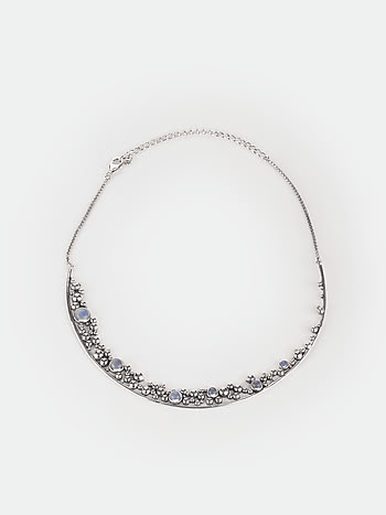 A Lazy Morning Necklace in 925 Silver