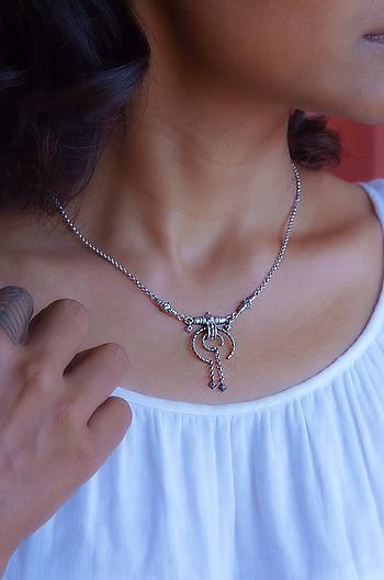 Akota Inspired Pendant Necklace