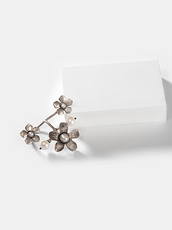 Marie C Ring in 925 Silver