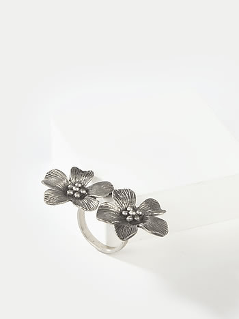 Cleopatra Ring in 925 Silver