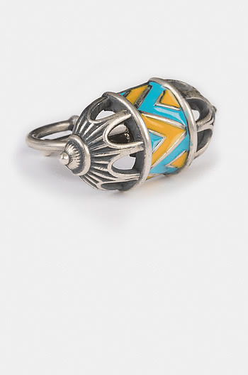 Antique Vartita Sculpture Ring