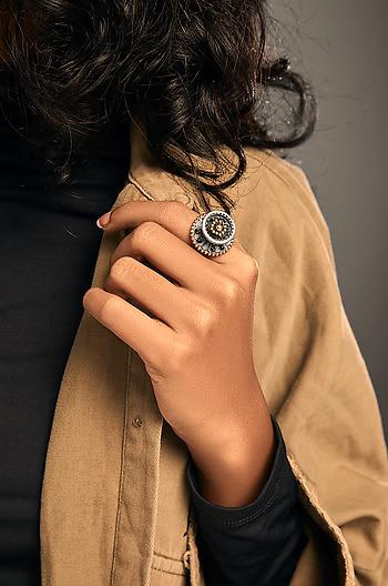 Antique Dalair Shield Ring