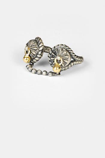 Antique Keladi Shield Ring