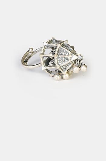 Antique Umadevi Shield Ring