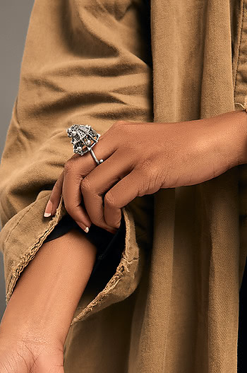 Umadevi Shield Ring