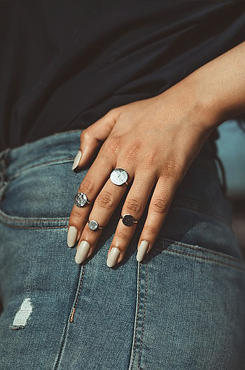 My My My Stackable Ring Set
