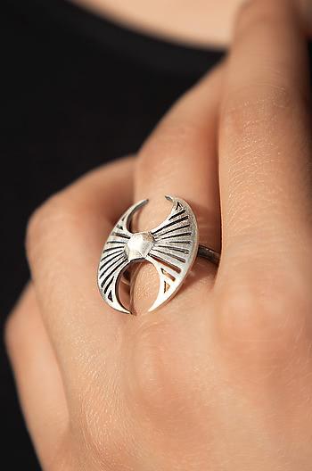 Antique Belawadi Axe Ring