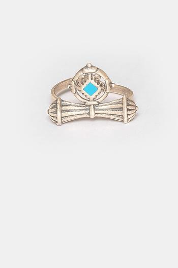 Antique Shivakari Vent Midi Ring