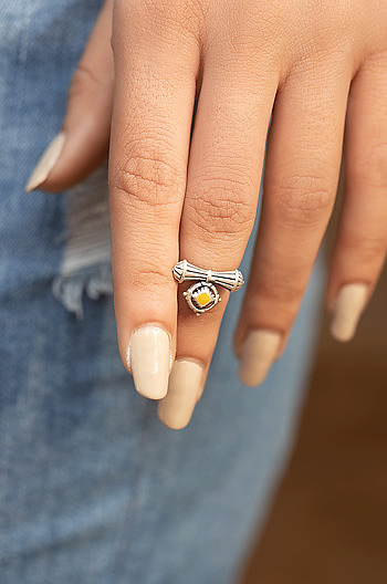 Antique Shivai Midi Ring