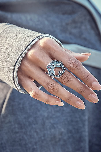 Dimpled Skin Ring