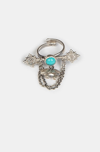 Antique Unflappable Ring