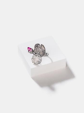 Rise Above Stigma Ring in 925 Silver
