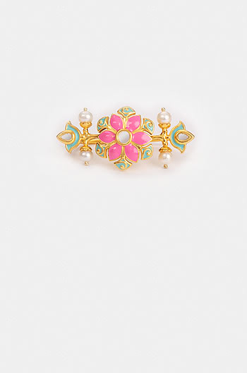 Gal Mithi Ring in Gold Plated Brass