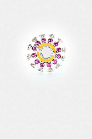 Abla Bharat Style Ring