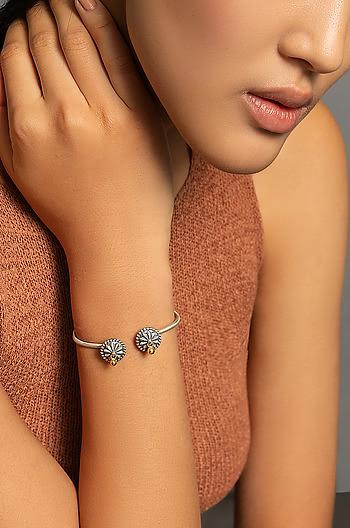 Antique Purala Shield Bracelet