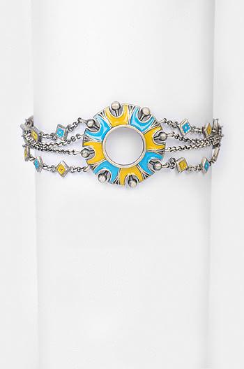 Antique Chakra Dome Bracelet