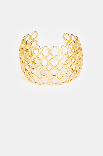 Abit of Drama Bracelet in Gold Plating
