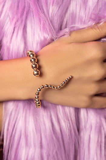 Counting Stars Bracelet in Rose Gold Plating