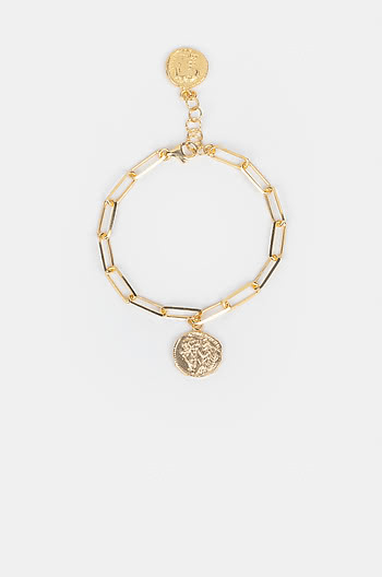 Rolling In It Bracelet in Gold Plating