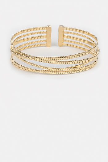 Up For It Bracelet in Gold Plating