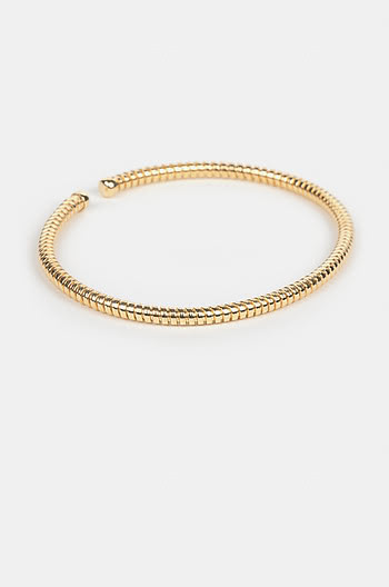 Dig It Bracelet in Gold Plating