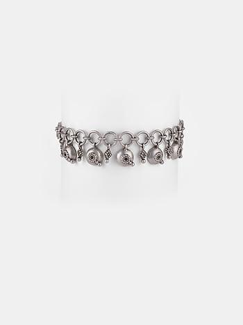 Antique Beejis Committee Meeting Bracelet in 925 Silver