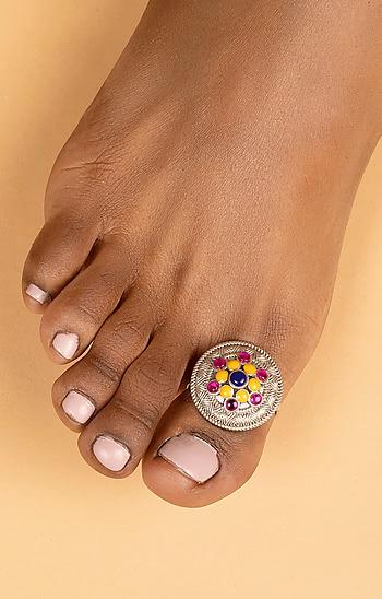 Phulwadi Work Single Toe Ring