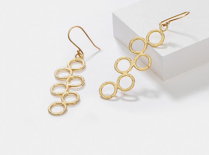 So Versatile Earrings in Gold Plating