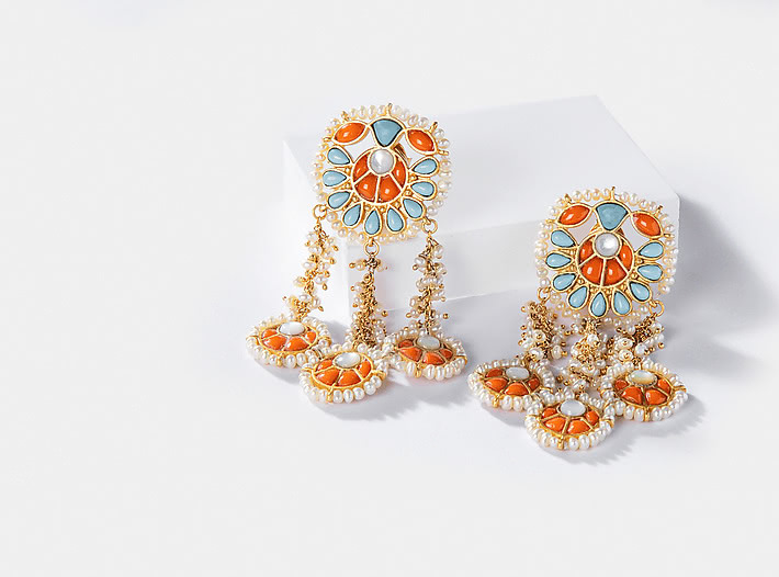 Kajrare Earrings