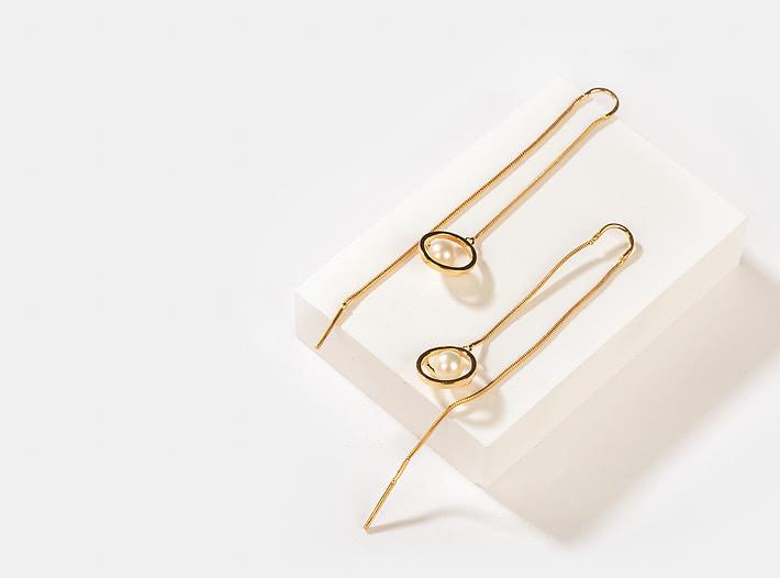 OOTD meets OOTN Earrings in Gold Plating
