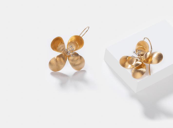 Clematis Earrings