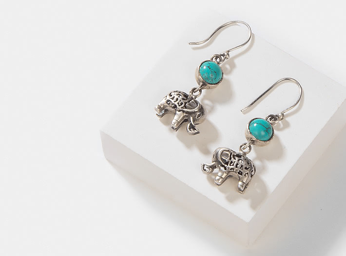 Antique Unflappable Earrings