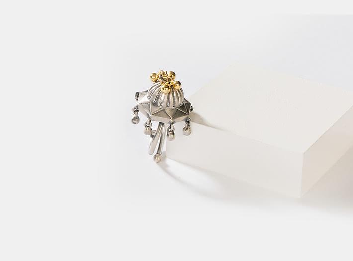 Antique Hidimba Gada Ring