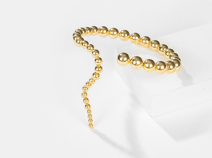 Counting Stars Bracelet in Gold Plating